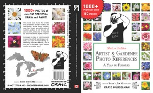 book cover artist and gardener photo references